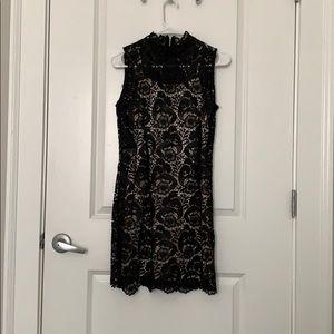 Black lace dress. Size Small